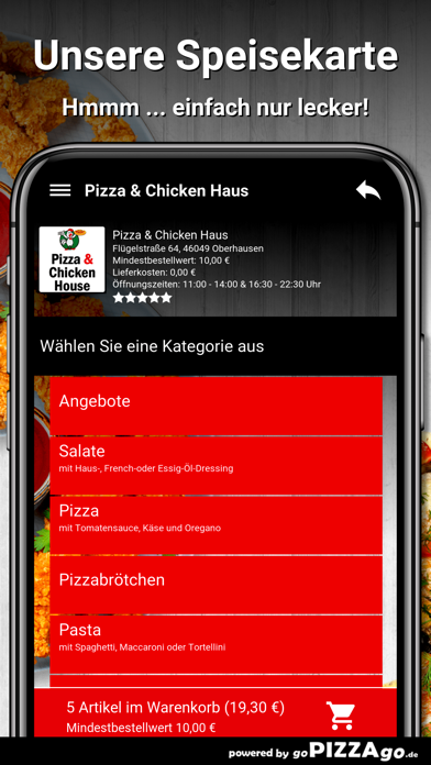 Pizza Haus Oberhausen screenshot 5
