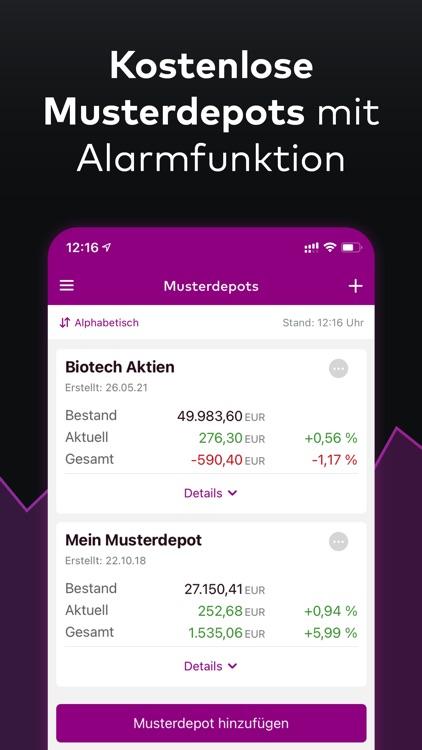 onvista - Börse & Aktienkurse screenshot-5