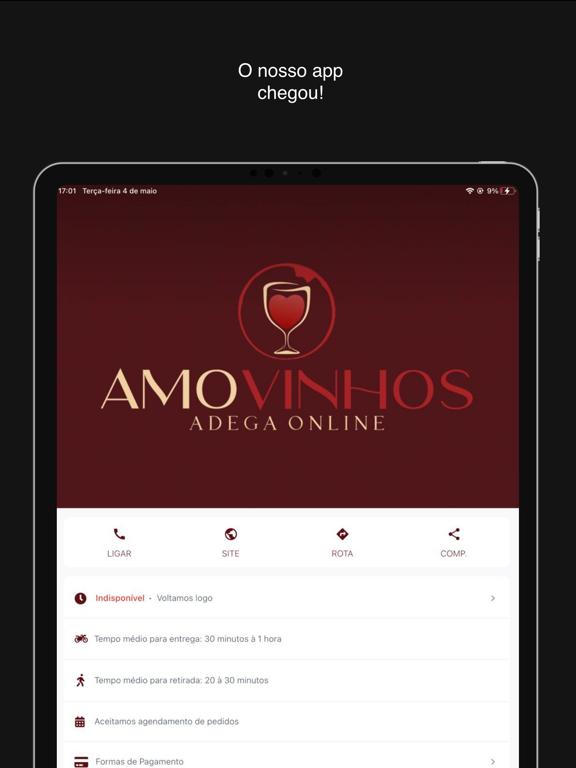 Amo Vinhos screenshot 7