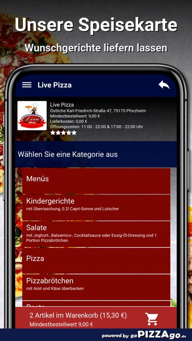 Live Pizza Pforzheim screenshot 4