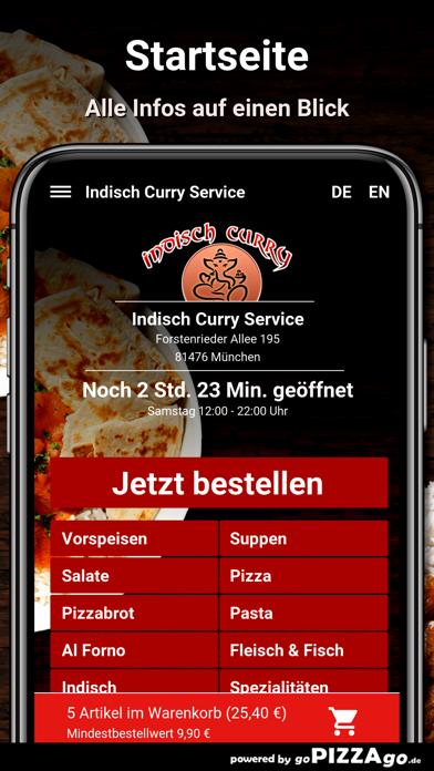 Indisch-Curry Service München screenshot 2