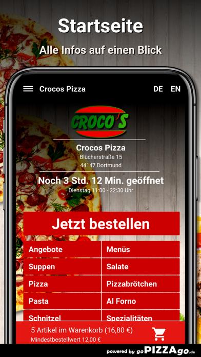 Crocos Pizza Dortmund screenshot 2