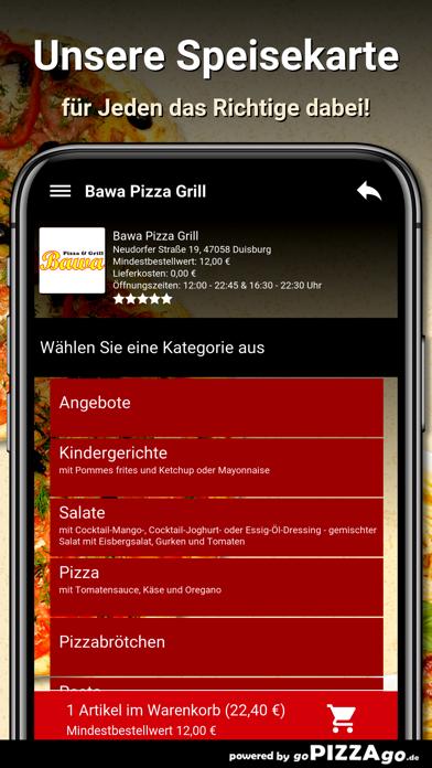 Bawa Pizza Grill Duisburg screenshot 4