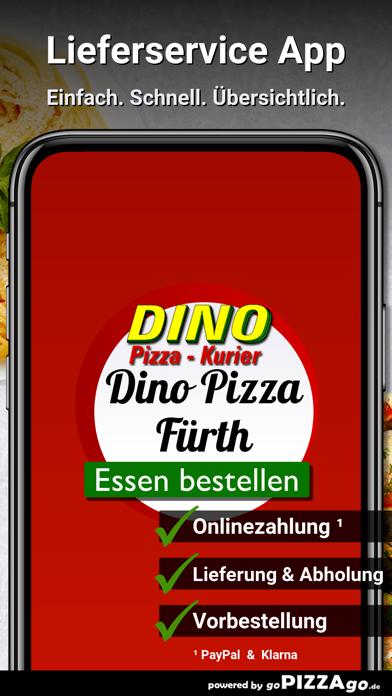 Dino Pizza Kurier Fürth screenshot 2