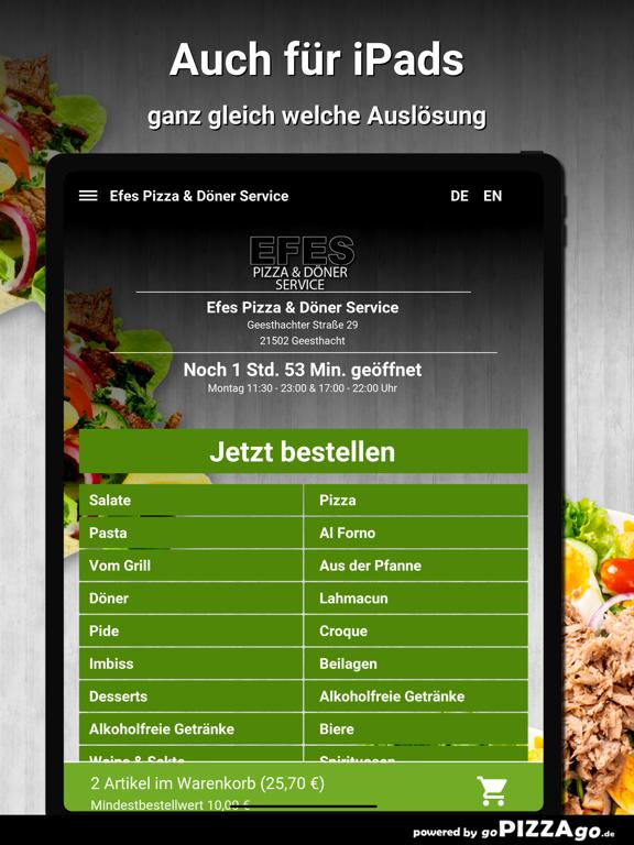 Efes Pizza & Döner Service screenshot 7