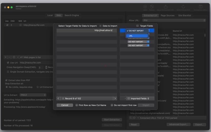 URL Extractor 4 Screenshots
