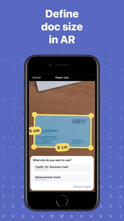 FineReader: PDF Scanner App screenshot-8
