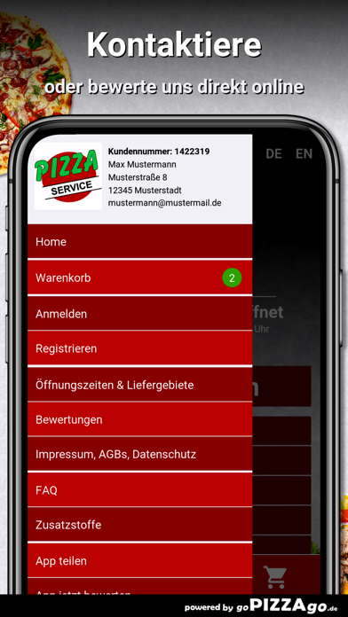 Pizza Service Landsberg screenshot 3
