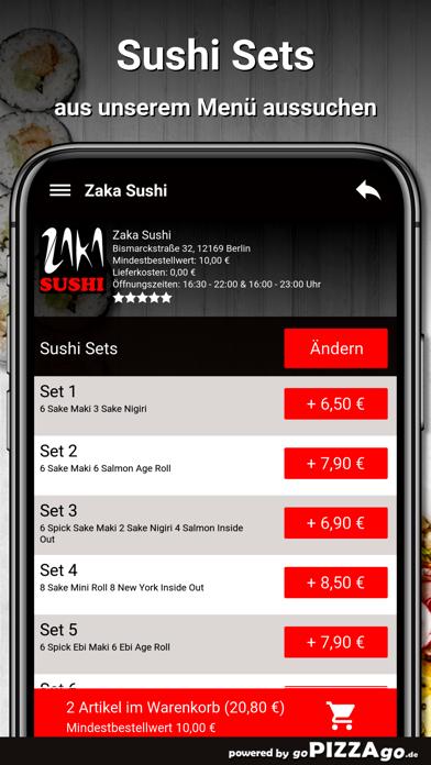 Zaka Sushi Berlin screenshot 5