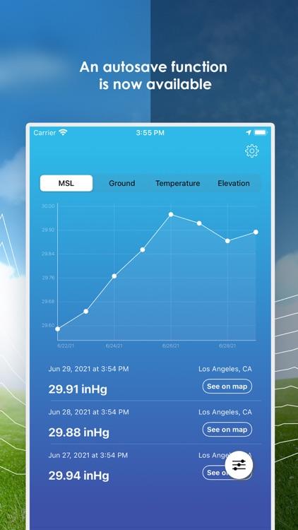 My Barometer and Altimeter screenshot-4
