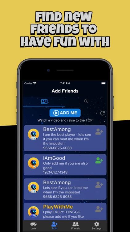 AmongFriends - Chat Among Crew