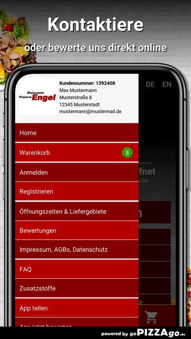 Pizzeria Engel Schwerte screenshot 3