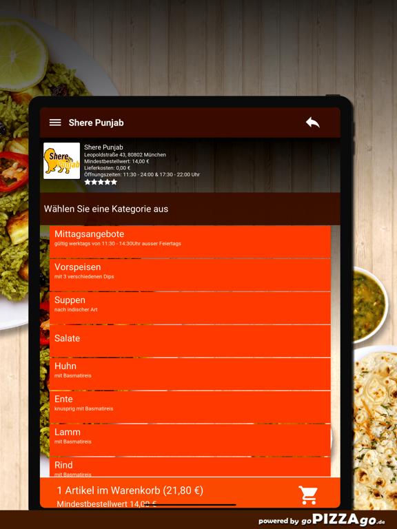Shere Punjab München screenshot 8