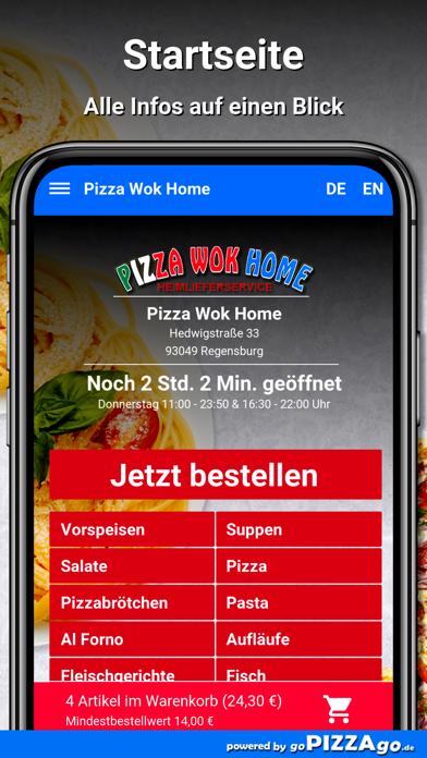 Pizza Wok Home Regensburg screenshot 2