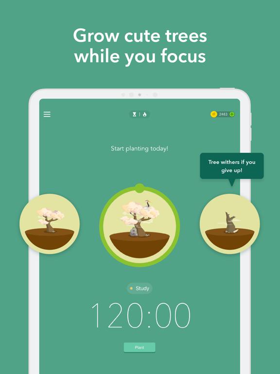 Forest - Your Focus Motivation iPad app afbeelding 3