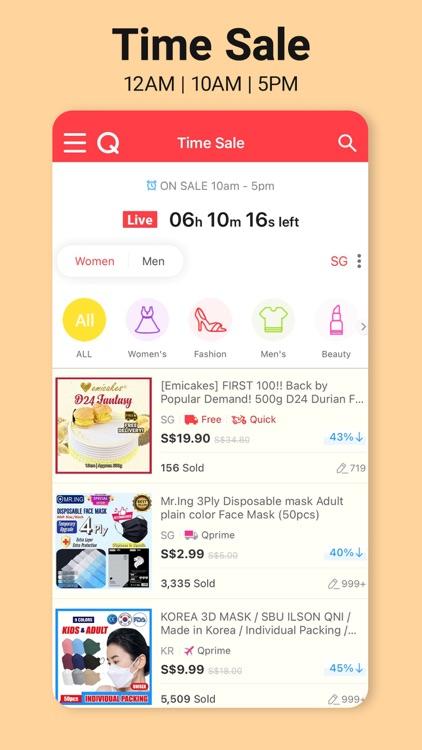 Qoo10 - Best Online Shopping screenshot-5
