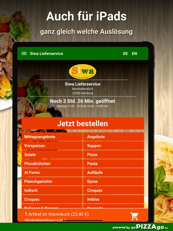 Siwa Lieferservice Hamburg screenshot 7