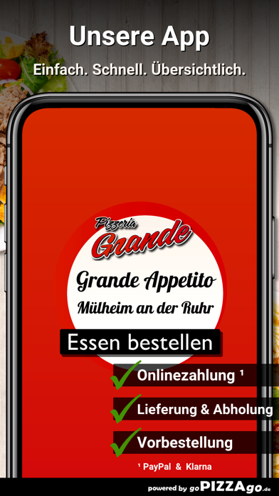 Pizzeria Grande Appetito Mülhe screenshot 1