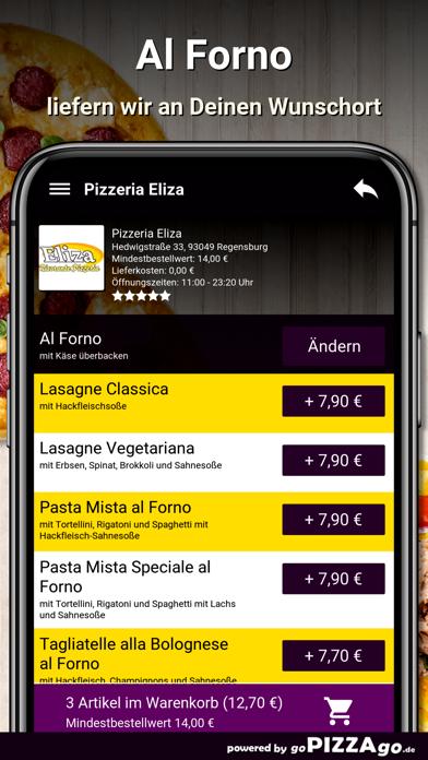 Pizzeria Eliza Regensburg screenshot 6