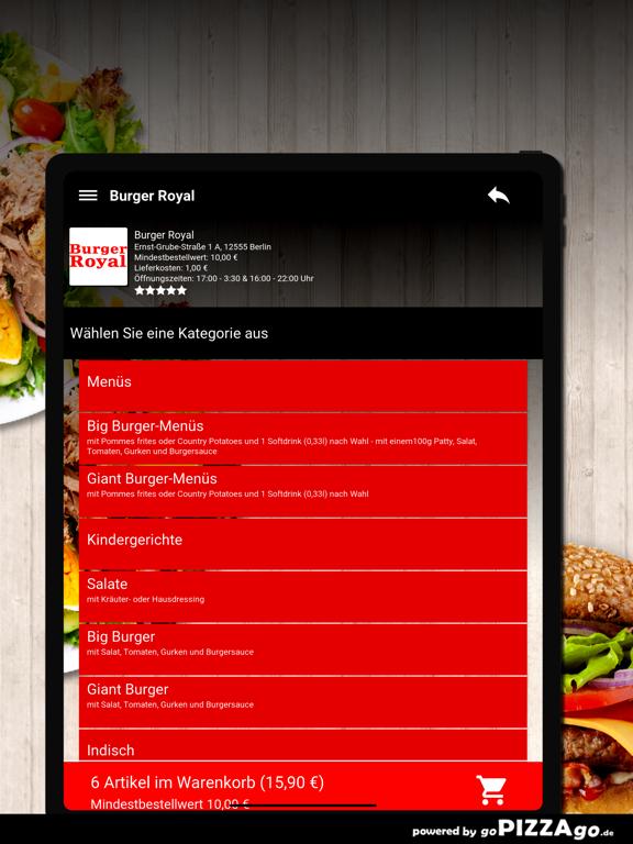 Burger Royal Berlin screenshot 8