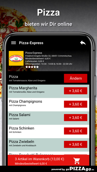 Pizza-Express Crimmitschau screenshot 5