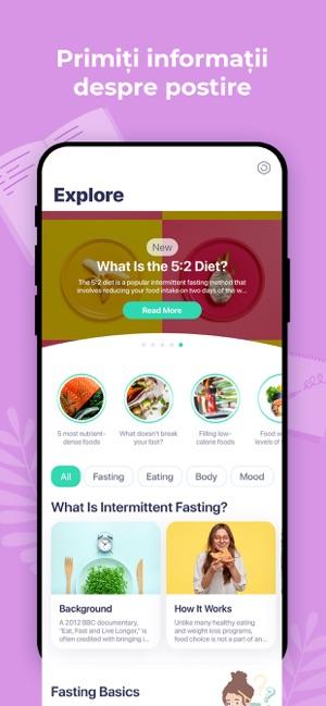 Top 5 aplicații de intermittent fasting care te vor ajuta să slăbești