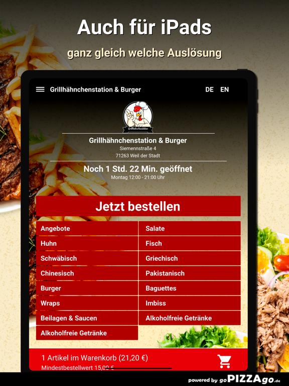 Grillhähnchenstation & Burger screenshot 7