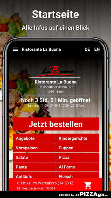 Ristorante La Buona Berlin screenshot 2