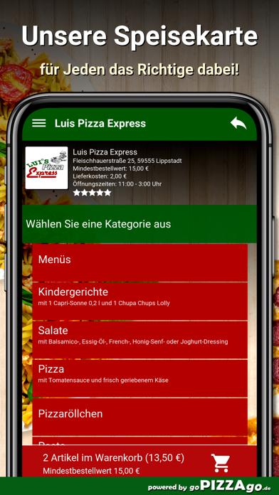 Luis Pizza Express Lippstadt screenshot 4