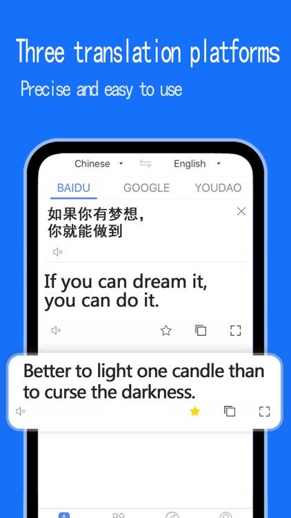 Translator - Speak & scanphoto screenshot-4