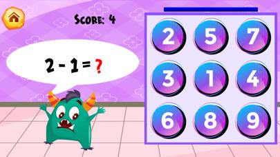 Monsters MathCandy screenshot 4