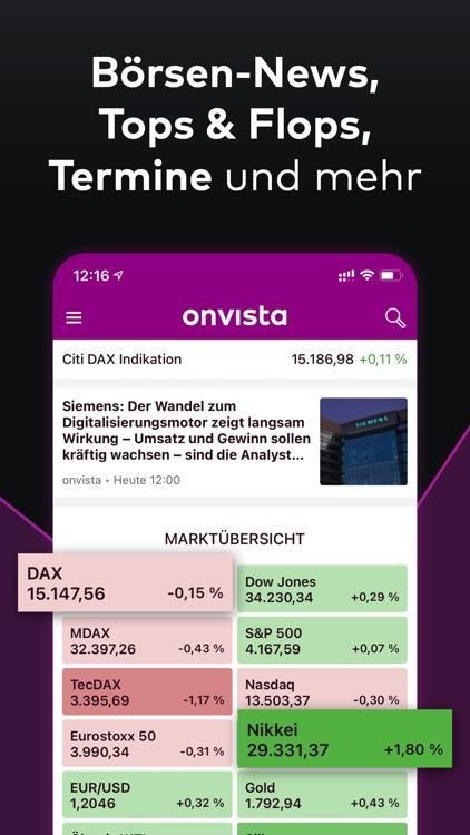 onvista - Börse & Aktienkurse screenshot-6