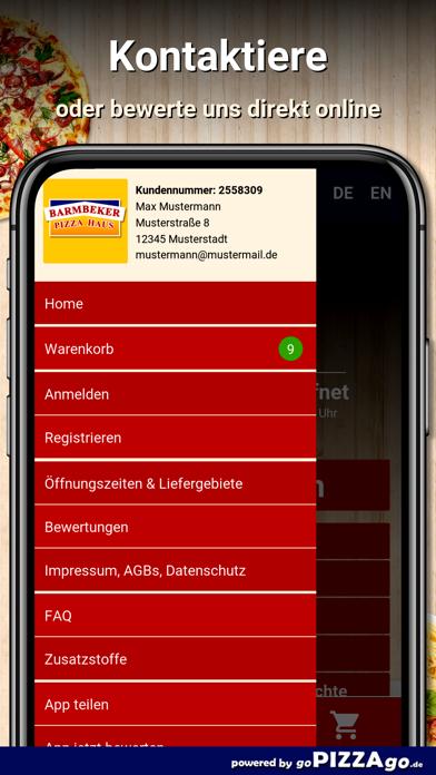 Barmbeker Pizza Haus Hamburg screenshot 4