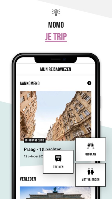time to momo iPhone app afbeelding 3