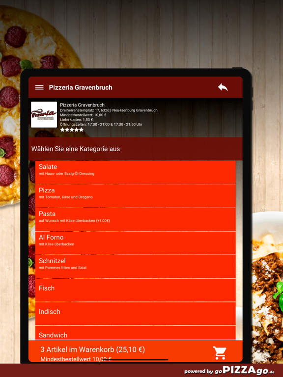 Pizzeria Gravenbruch Neu-Isenb screenshot 8