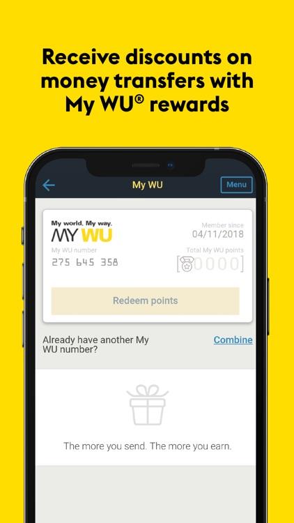 Western Union®: Money Transfer screenshot-7