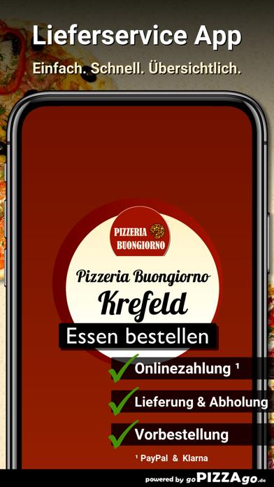 Pizzeria Buongiorno Krefeld screenshot 1