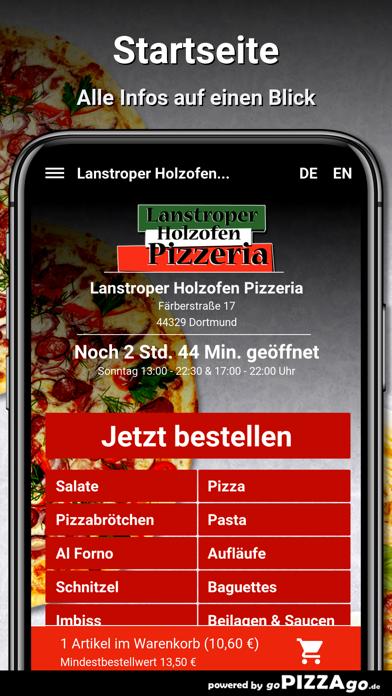 Lanstroper Pizza Dortmund screenshot 2