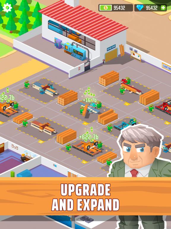 Lumber empire: idle tycoon iPad app afbeelding 3