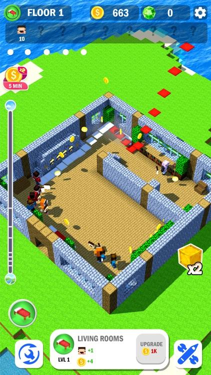 Tower Craft 3D - Idle Building screenshot-5
