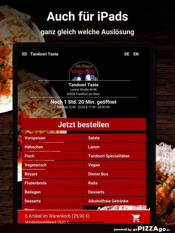 Tandoori Taste Frankfurt screenshot 7