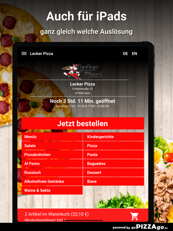 Lecker Pizza Gera screenshot 8