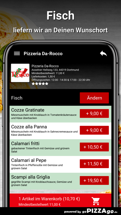 Pizzeria Da-Rocco Dortmund screenshot 6