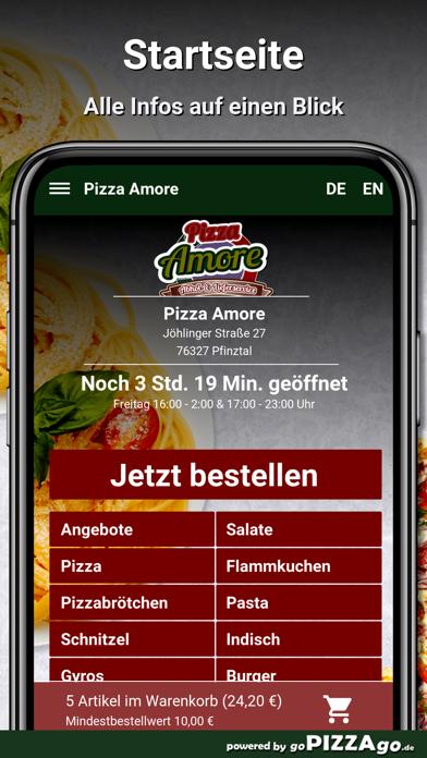 Pizza Amore Pfinztal screenshot 2