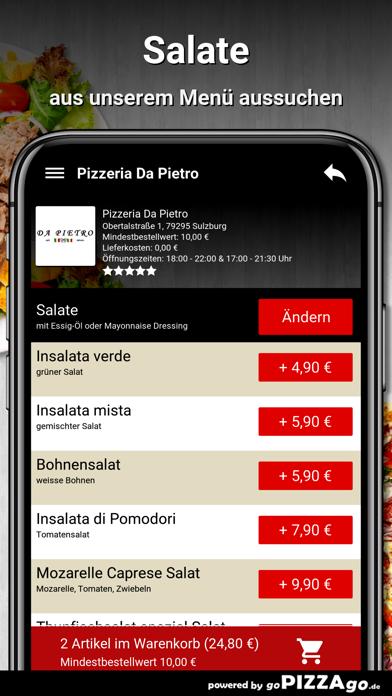 Pizzeria Da Pietro Sulzburg screenshot 5