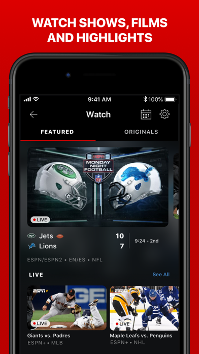 ESPN: Live Sports & Scores wiki review and how to guide