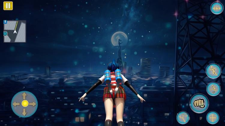 Anime Girl Yandere School Life screenshot-4