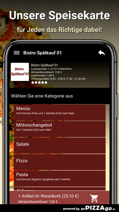 Bistro Spätkauf 01 Hildesheim screenshot 4