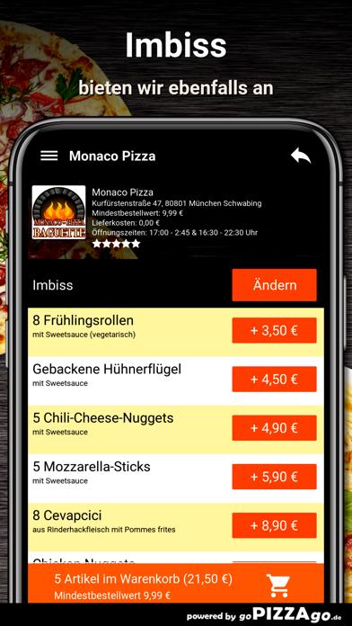 Monaco-Pizza München screenshot 6