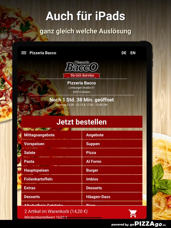 Pizzeria Bacco Idstein screenshot 7